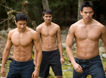 Alex Meraz, Kiowa Gordon, Chaske Spencer, New Moon